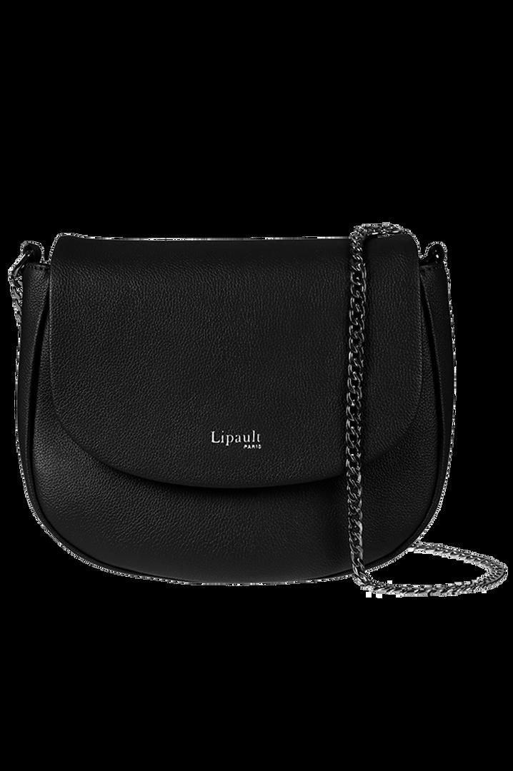 Plume Elegance Saddle Bag Black | 5