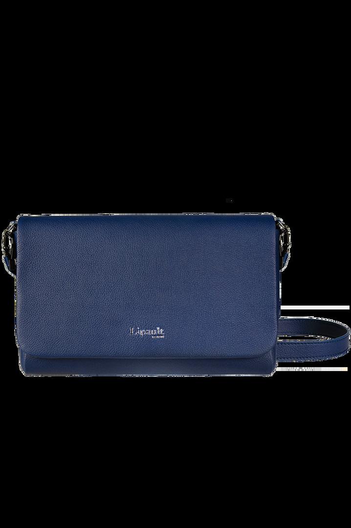 Plume Elegance Clutch Bag Navy | 1