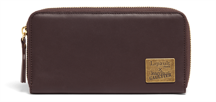 J.P. Gaultier Collab Wallet Burgundy | 1
