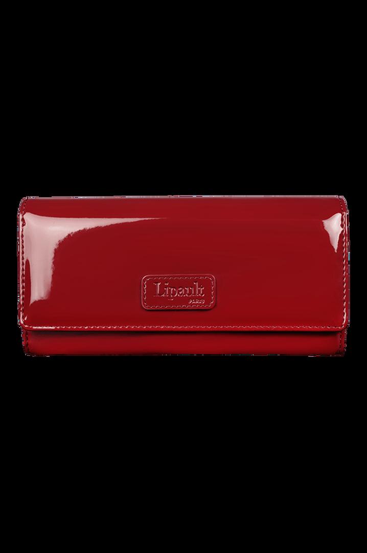 Plume Vinyle Wallet Ruby   1