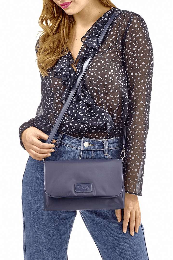 Lady Plume Clutch Bag M Navy | 3