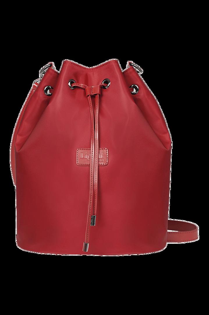 Lady Plume Bucket Bag M Ruby | 1