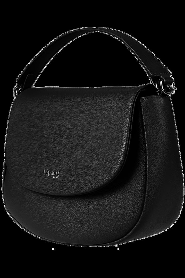 Plume Elegance Saddle Bag Black | 6