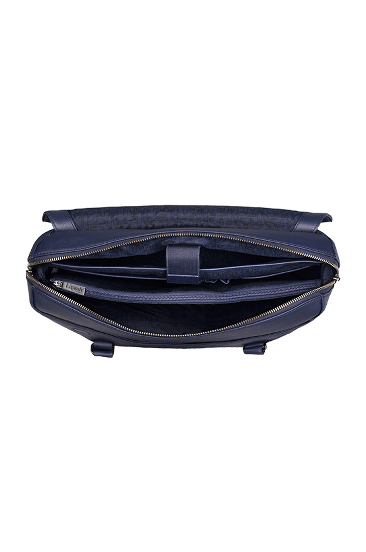 Plume Elegance Briefcase Navy   2