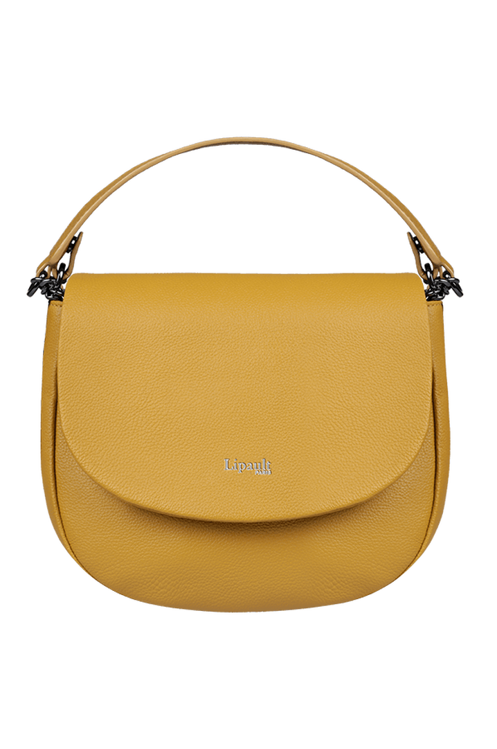 Plume Elegance Saddle Bag Mustard | 1