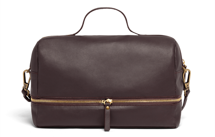 J.P. Gaultier Collab Compil Boston Bag Burgundy | 3