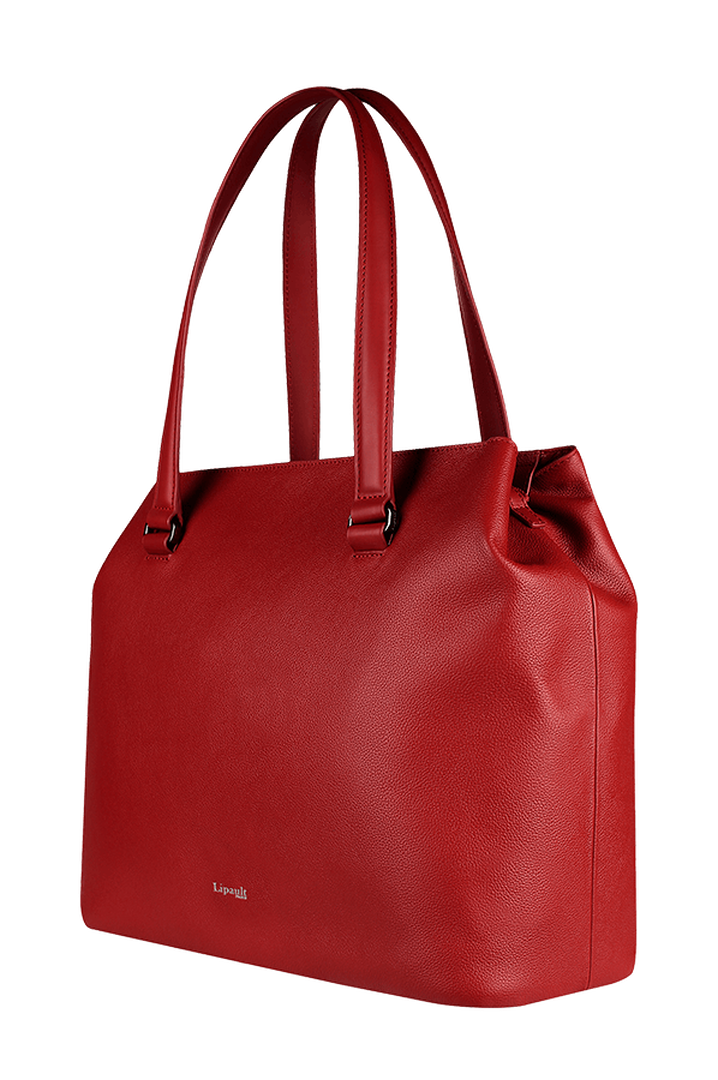Plume Elegance Shopping bag L Ruby | 3