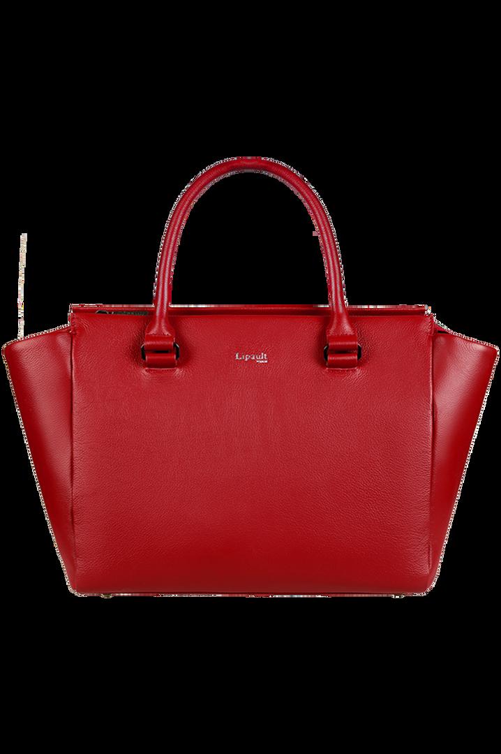Plume Elegance Satchel Bag Ruby | 1