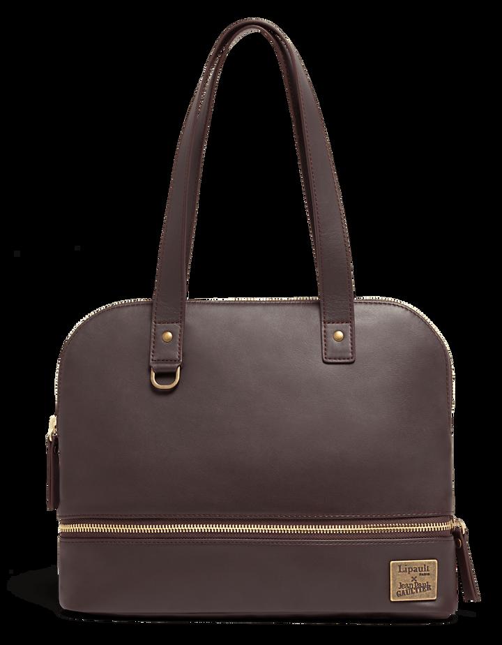 J.P. Gaultier Collab Swing Shopper Bag Burgundy | 1