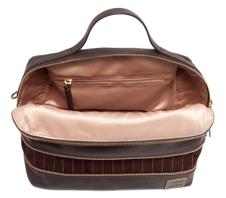 J.P. Gaultier Collab Compil Boston Bag Burgundy | 2