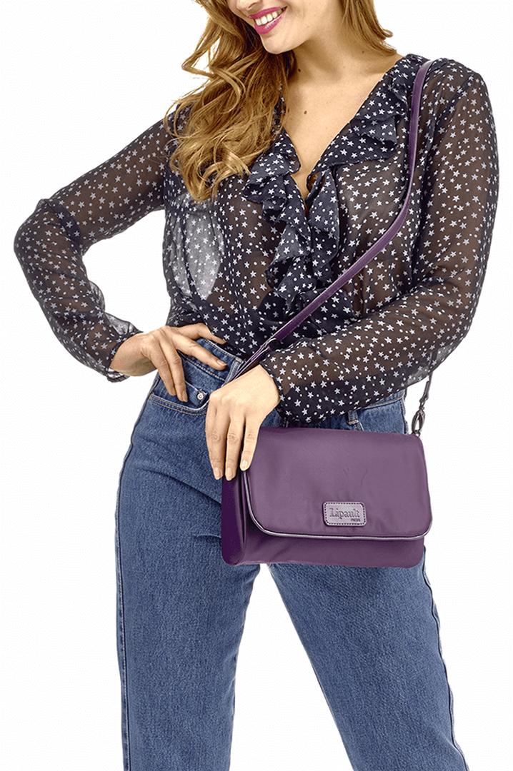 Lady Plume Clutch Bag M Purple | 3