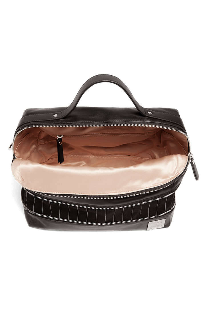 J.P. Gaultier Collab Compil Boston Bag Black   2