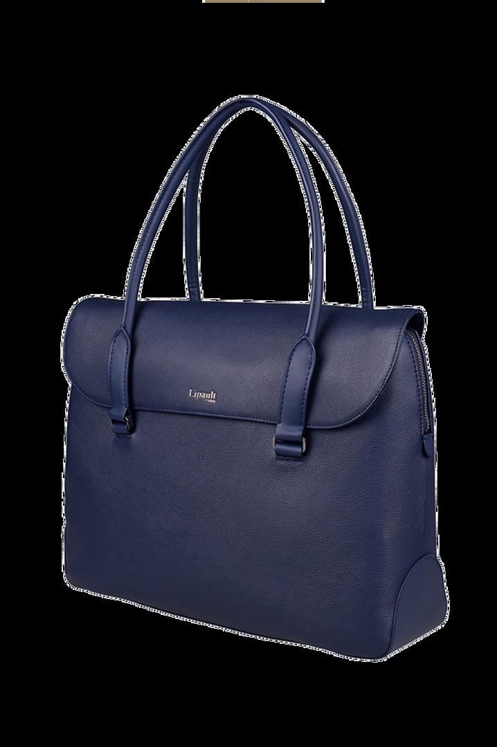 Plume Elegance Briefcase Navy   4