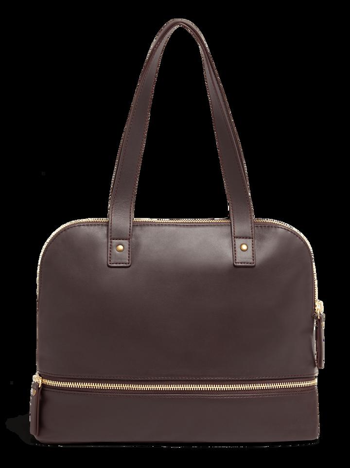 J.P. Gaultier Collab Swing Shopper Bag Burgundy | 3