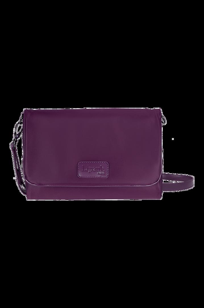 Lady Plume Clutch Bag M Purple | 1