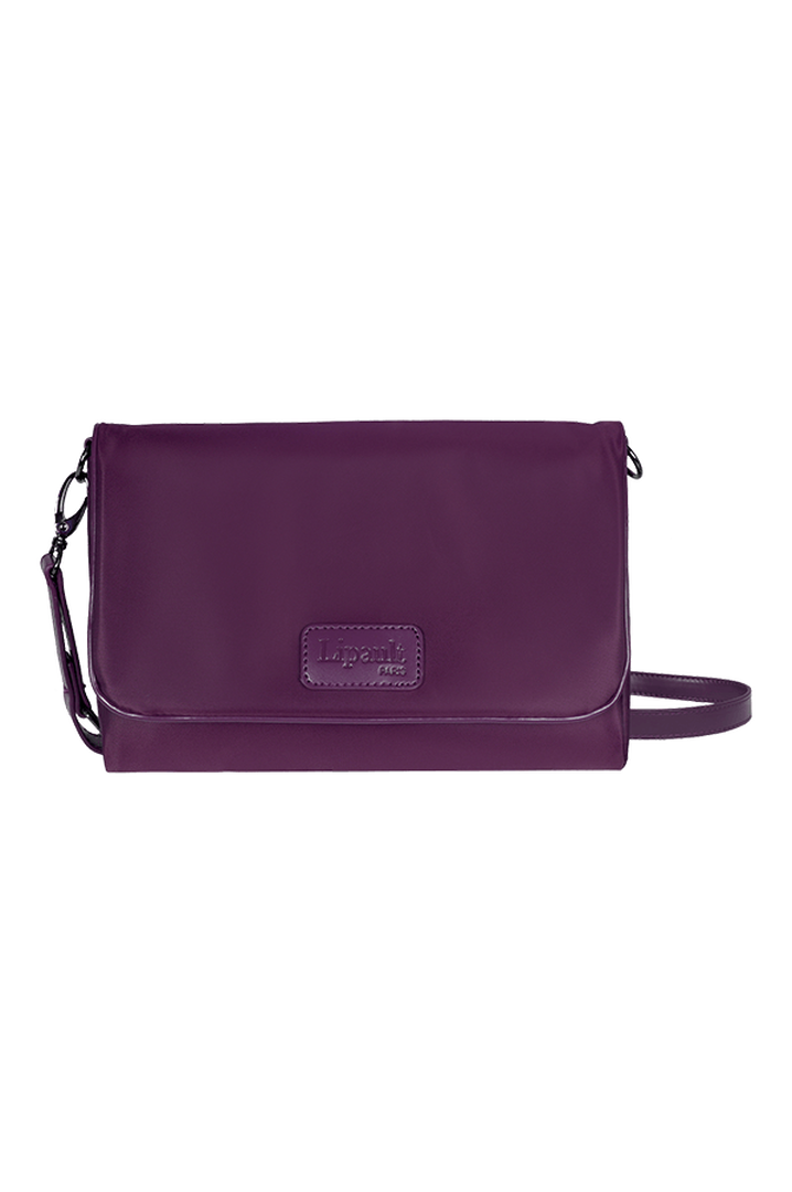 Lady Plume Clutch Bag M Purple | 1