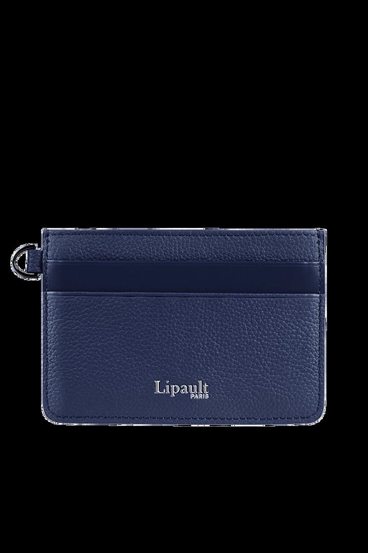 Plume Elegance Credit Card Holder Navy | 1