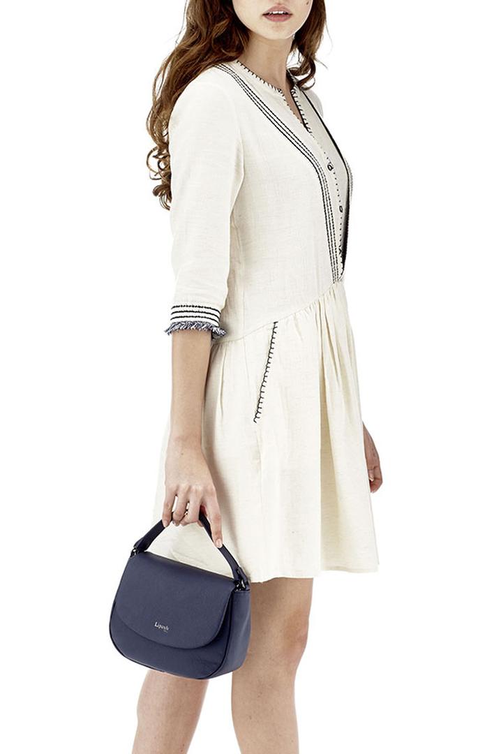 Plume Elegance Saddle Bag Navy | 3