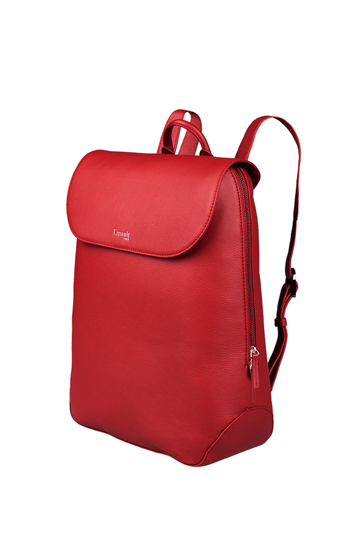 Plume Elegance Laptop Backpack M Ruby   4