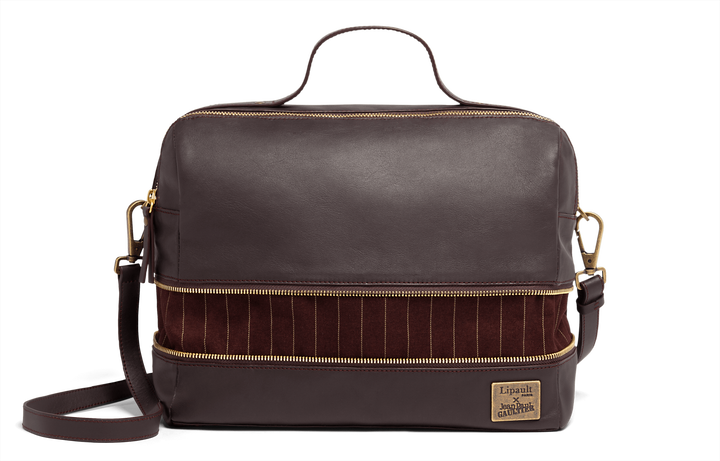 J.P. Gaultier Collab Compil Boston Bag Burgundy | 5