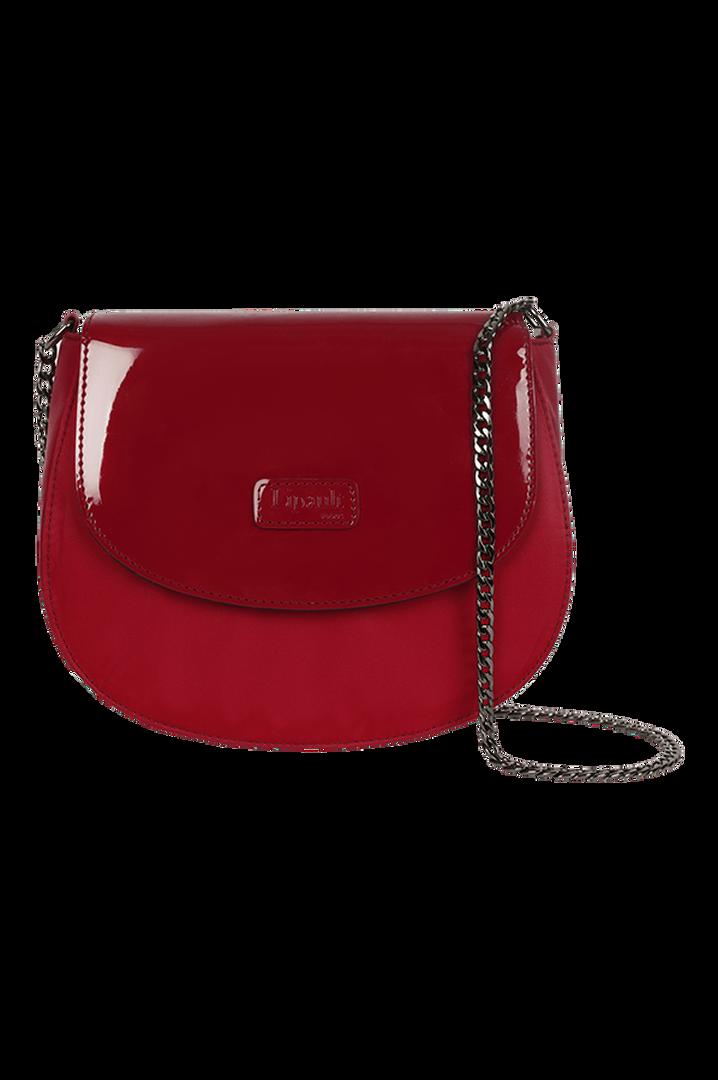 Plume Vinyle Handbag Ruby | 4