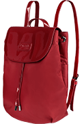 Plume Vinyle Backpack S Ruby