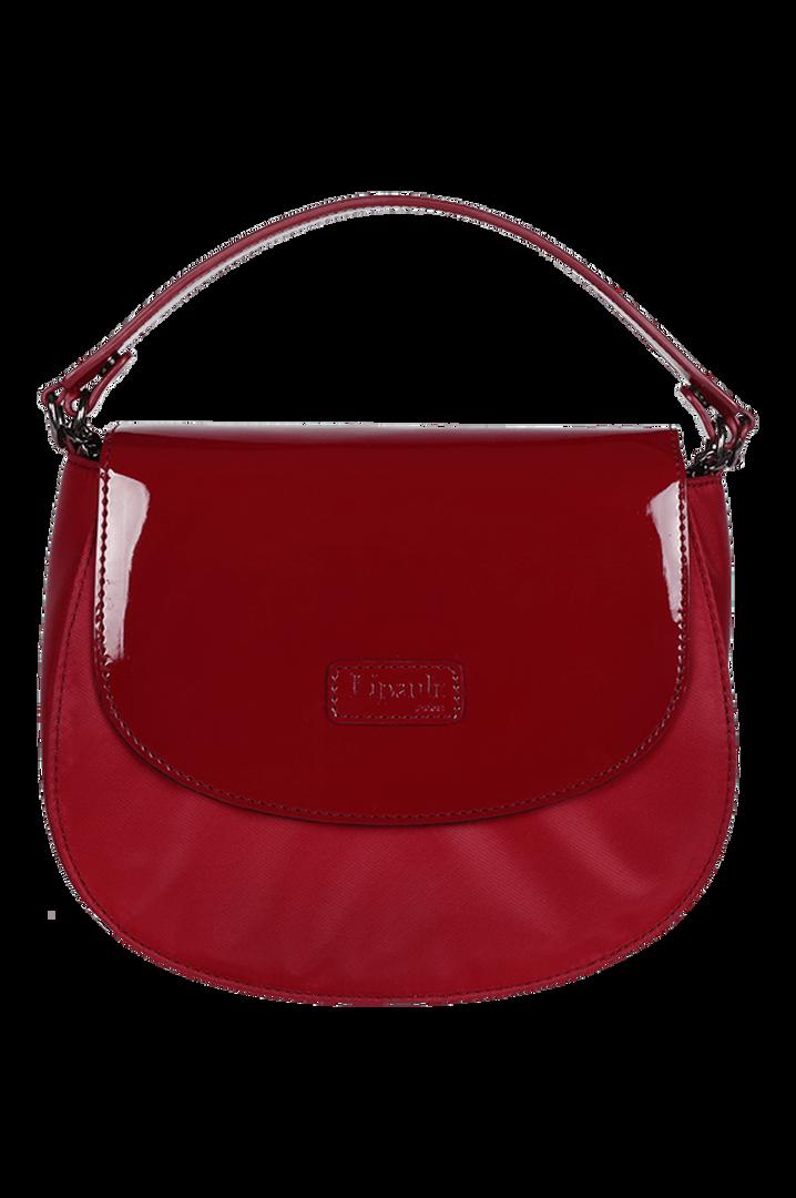 Plume Vinyle Handbag Ruby | 1
