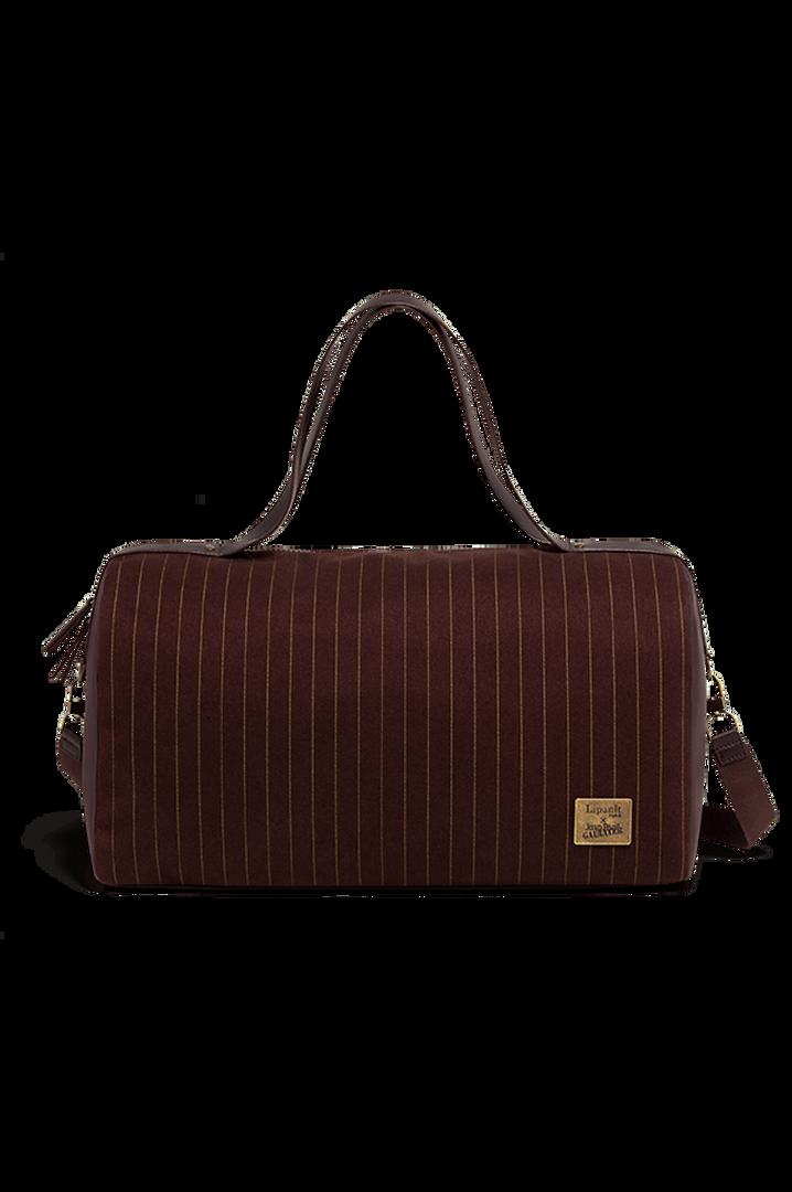 J.P. Gaultier Collab Ampli Duffle Bag Burgundy | 1