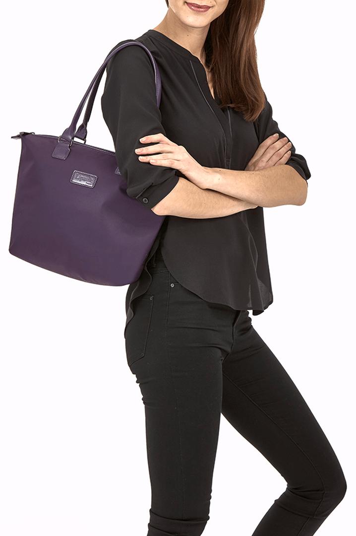 Lady Plume Shopping bag S Purple   3