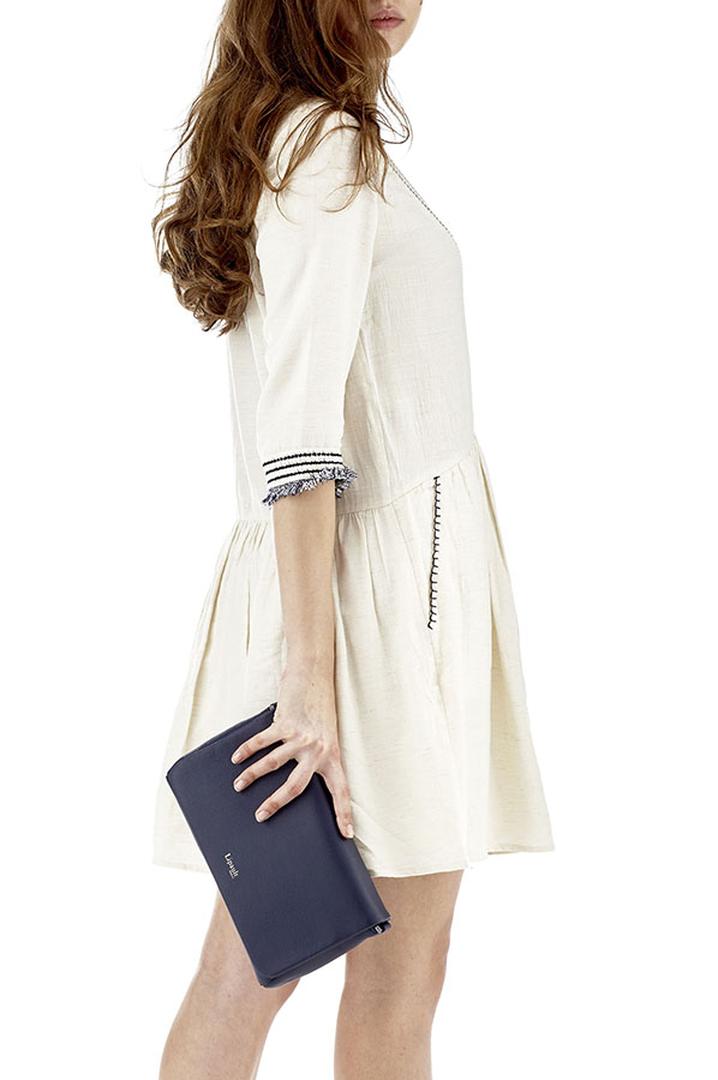 Plume Elegance Clutch Bag Navy | 3