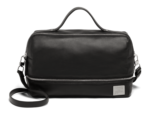 J.P. Gaultier Collab Compil Boston Bag Black