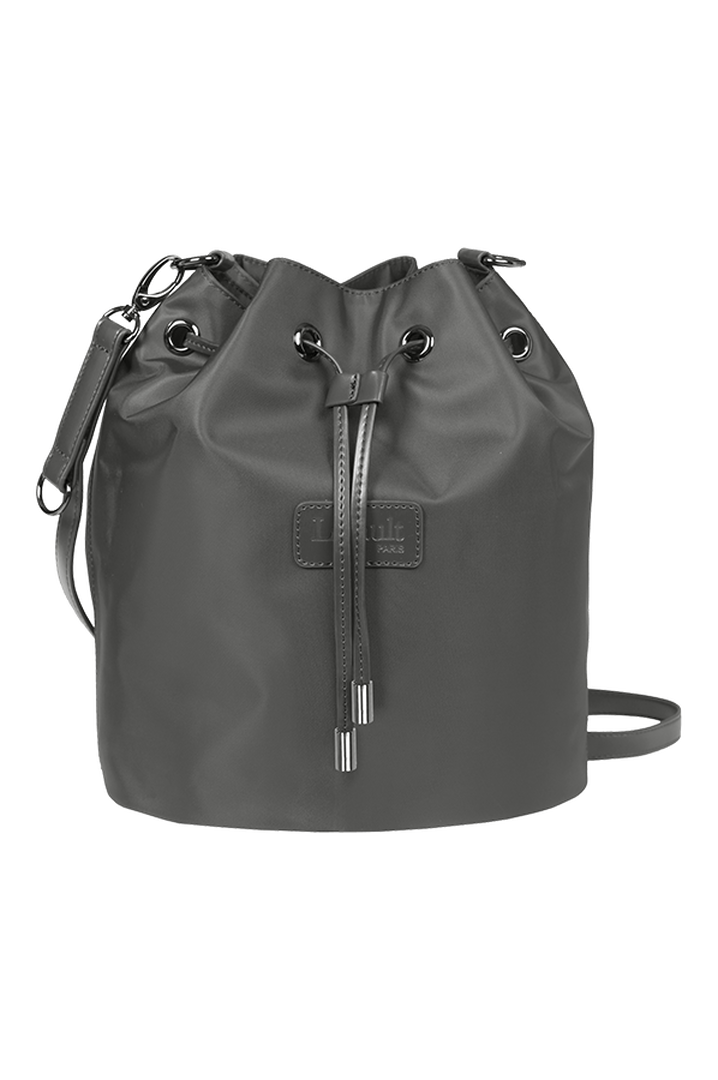 Lady Plume Bucket Bag S Anthracite Grey   1