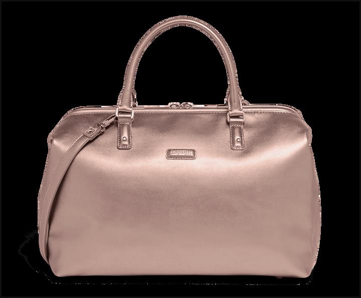 Miss Plume Bowling Bag M Pink Gold | 1