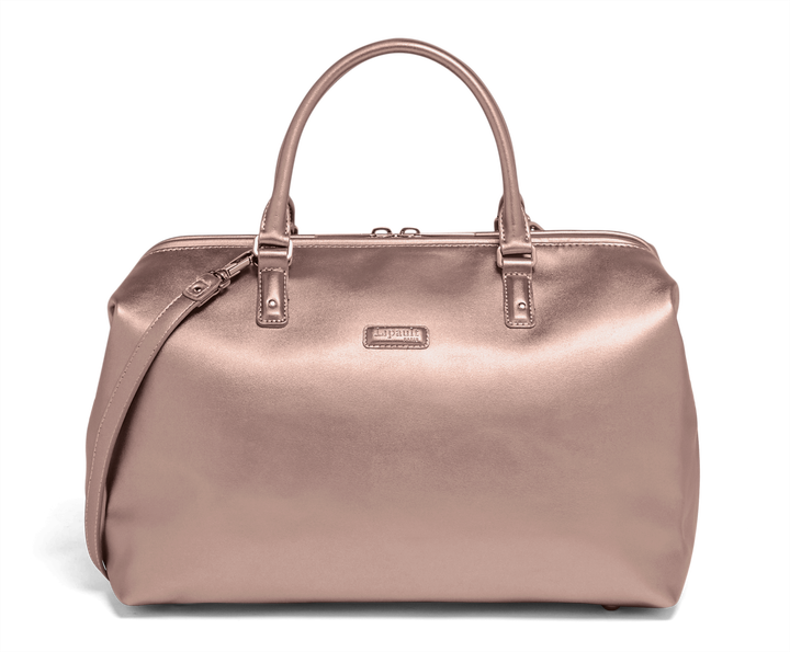 Miss Plume Bowling Bag M Pink Gold | 1
