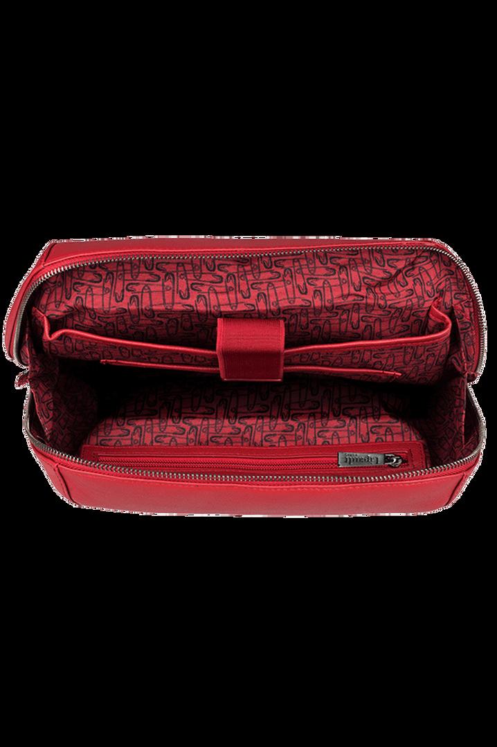 Plume Elegance Laptop Backpack M Ruby   2