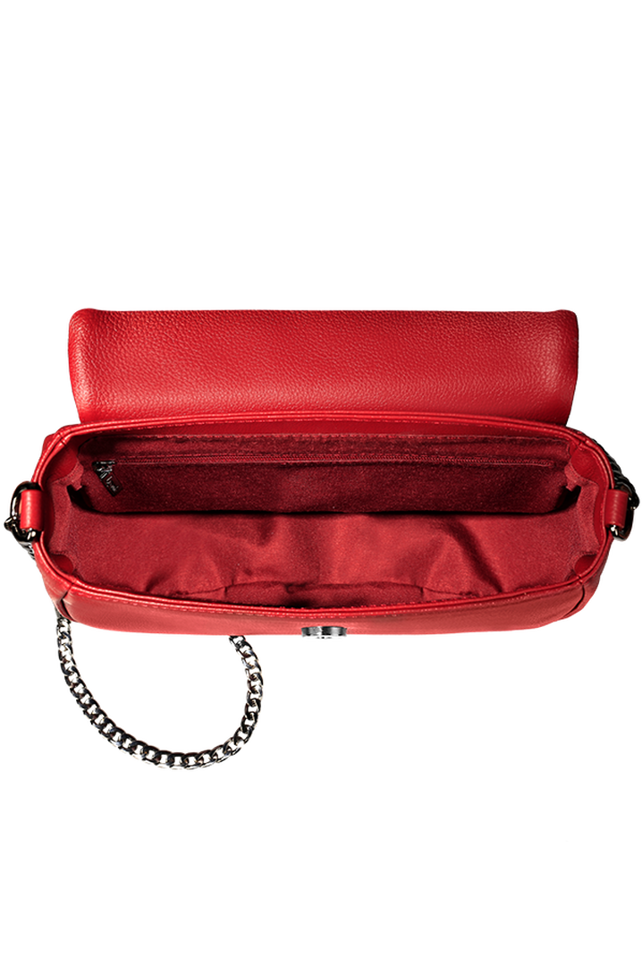 Plume Elegance Saddle Bag Ruby | 2