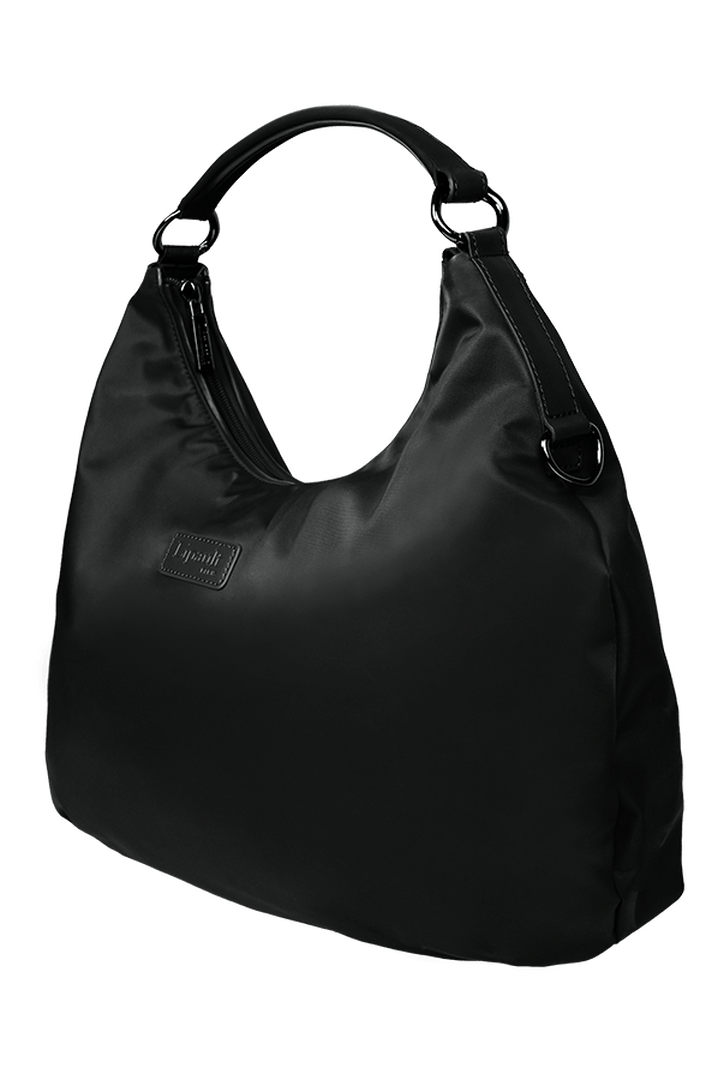 Lady Plume Hobo bag M Black | 2