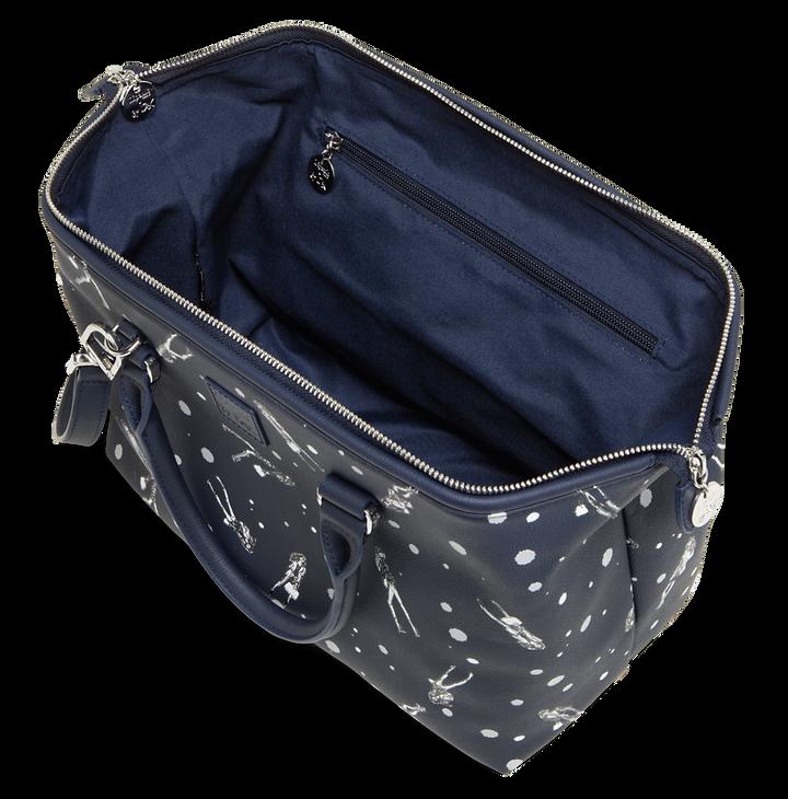Izak Zenou Collab Bowling Bag Pose/Night Blue | 2