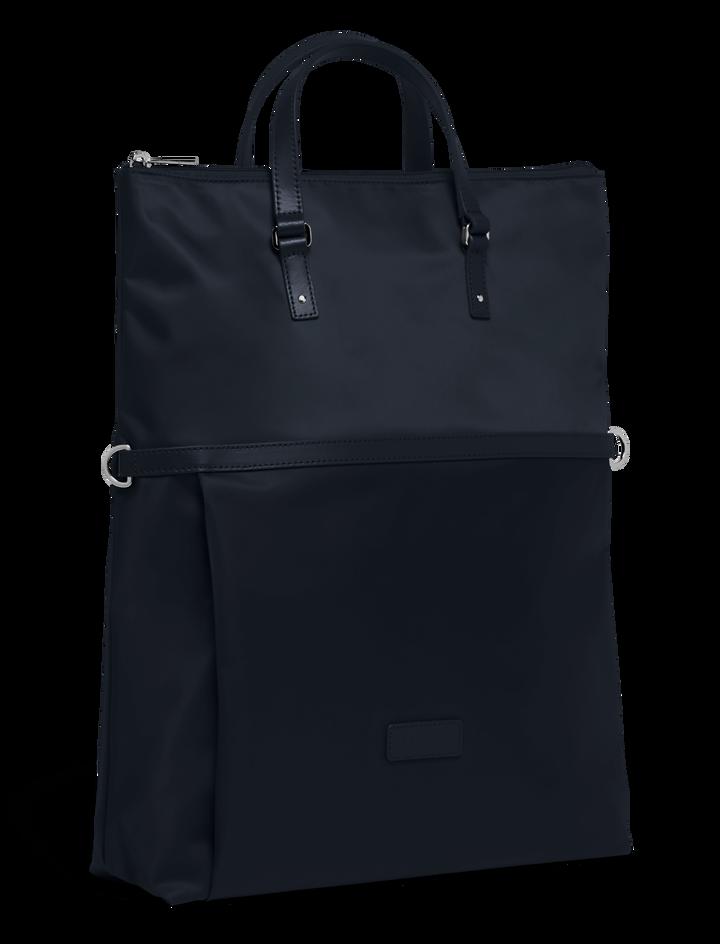 Lady Plume Shopping bag Navy   4