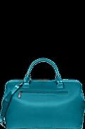 Lady Plume Shoulder bag M Duck Blue