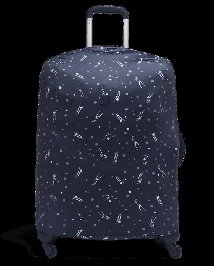 Izak Zenou Collab Luggage Cover M Pose/Night Blue | 1