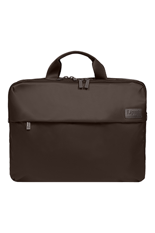 Lipault Plume Business Laptop Bag 17.3inch Chocolate fl