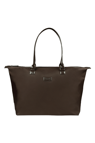 Lipault Lady Plume Tote Bag L Chocolate