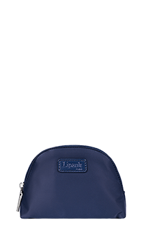 Lipault Plume Accessoires Cosmetic Pouch M  Navy