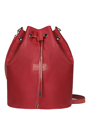 Lipault Lady Plume Bucket Bag M Ruby