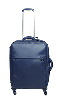 Lipault Plume Premium Cabin Luggage 4 Wheels 55cm Navy